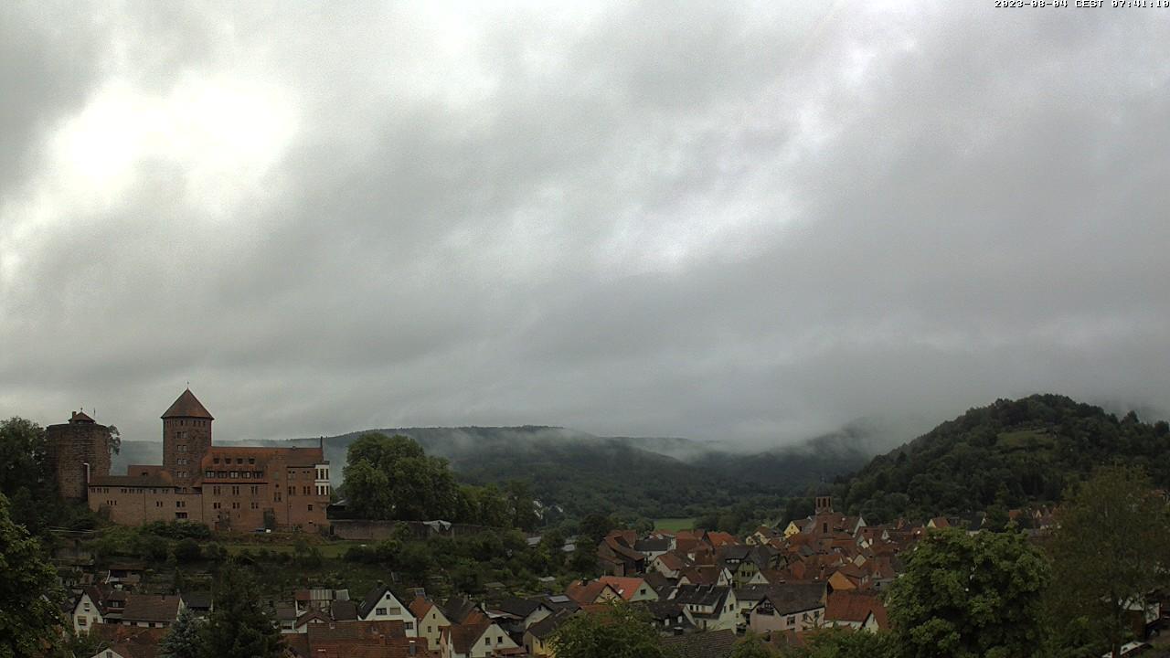 Aktuelles Webcam-Foto Stadt Rieneck im Spessart
